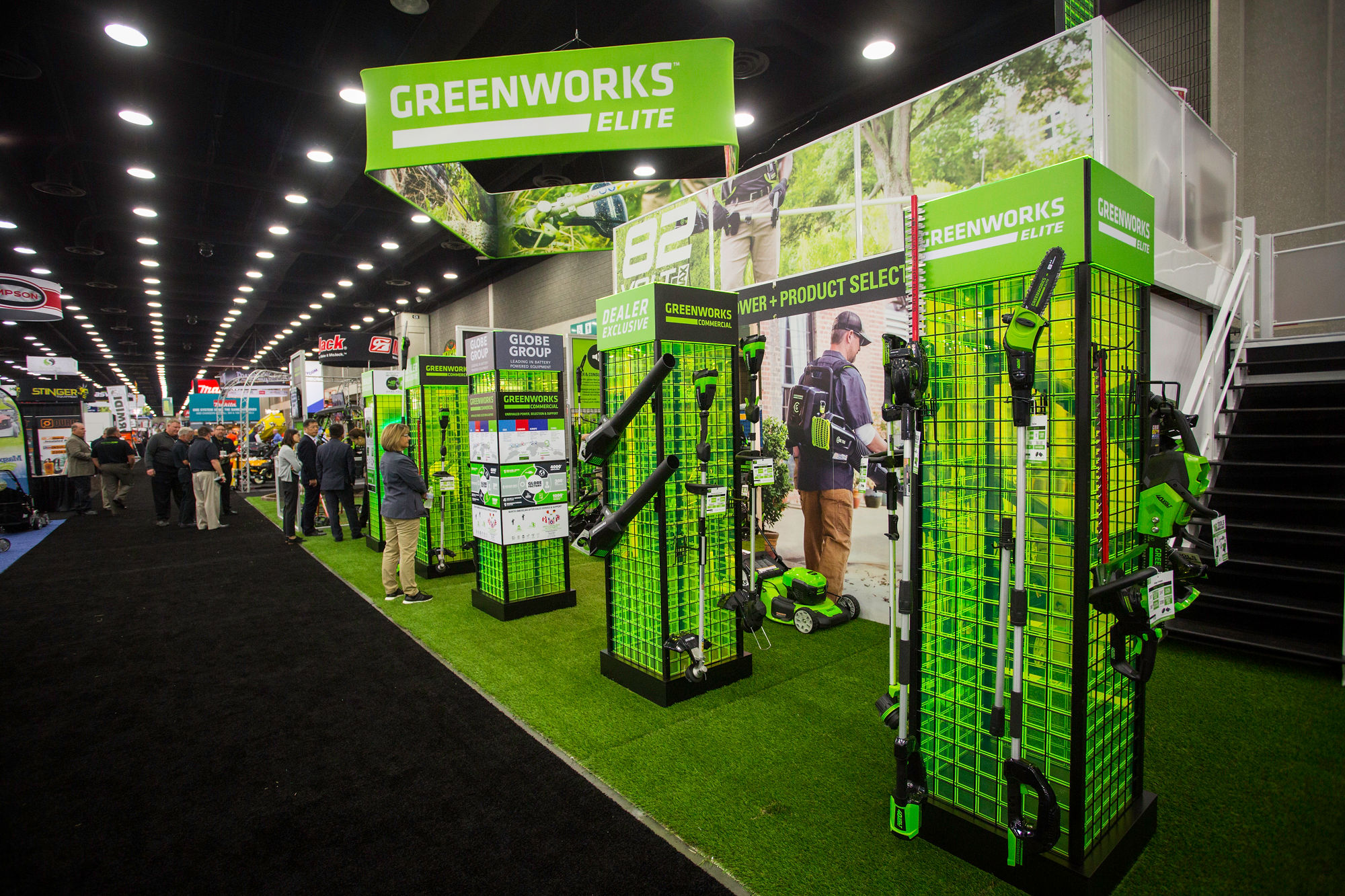 GREENWORKS INTRODUCES FLEET OF LITHIUM-ION-POWERED OUTDOOR
